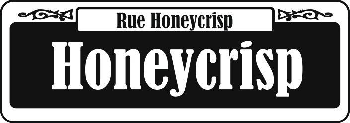 Rue Honeycrisp. Honeycrisp